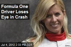 Formula One Driver Loses Eye in Crash