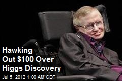 Hawking Loses $100 Bet Over Higgs Discovery