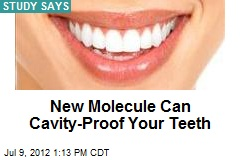 New Molecule Can Cavity-Proof Your Teeth