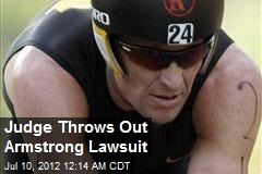 Judge Throws Out Armstrong Lawsuit