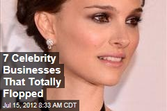 7 Celebrity Businesses That Totally Flopped