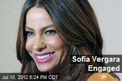 Sofia Vergara Engaged