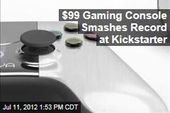 $99 Gaming Console Smashes Record at Kickstarter