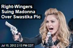 Right-Wing Party Suing Madonna for Swastika Picture