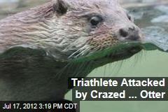 Triathlete Attacked by Crazed ... Otter
