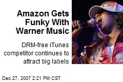 Amazon Gets Funky With Warner Music