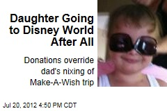 Cancer Patient Going to Disney World After All