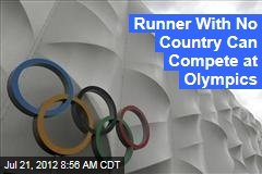 Runner With No Country Can Compete at Olympics