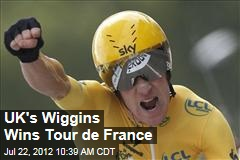 UK's Wiggins Wins Tour de France