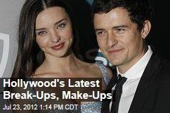 Hollywood's Latest Break-Ups, Make-Ups
