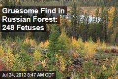 Gruesome Find in Russian Forest: 248 Fetuses