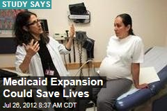 Medicaid Expansion Could Save Lives