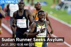 Sudan Runner Seeks Asylum