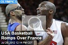 USA Basketball Romps Over France