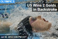US' Missy Franklin Wins 100 Backstroke