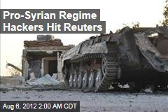 Pro-Syrian Regime Hackers Hit Reuters