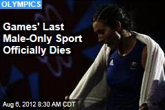 Games' Last Male-Only Sport Officially Dies