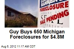 Guy Buys 650 Mich. Foreclosures for $4.8M