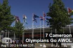 7 Cameroon Olympians Go AWOL