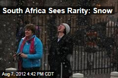 South Africa Sees Rarity: Snow