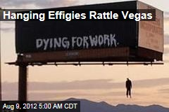 Hanging Effigies Rattle Vegas