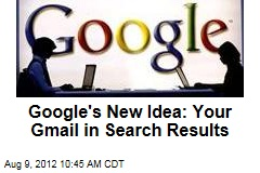 Google's New Idea: Your Gmail in Search Results