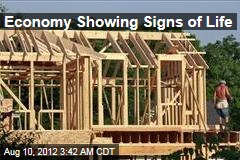 Economy Showing Signs of Life