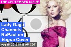 Lady Gaga Channels RuPaul on Vogue Cover