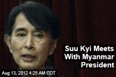 Suu Kyi Meets With Myanmar President