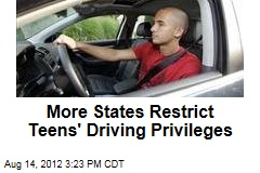 More States Restrict Teens' Driving Privileges