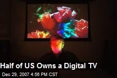 Half of US Owns a Digital TV