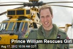 Prince William Rescues Girl