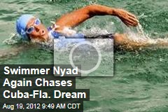 Swimmer Nyad Again Chases Cuba-Fla. Dream