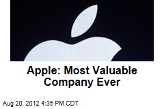 Apple: Most Valuable Company Ever
