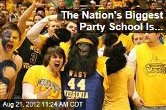 The Nation's Biggest Party School Is...