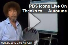 PBS Icons Live On in .. Autotune