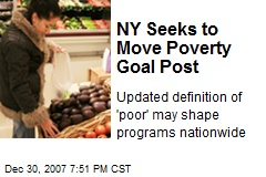 NY Seeks to Move Poverty Goal Post