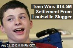 Teen Wins $14.5M Settlement From Louisville Slugger