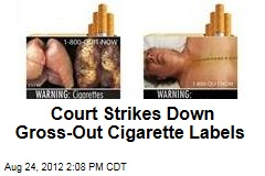 Court Strikes Down Gross-Out Cigarette Labels
