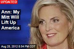 Ann: My Mitt Won't Let America Down