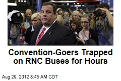 Convention-Goers Trapped on RNC Buses for Hours
