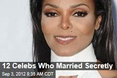 12 Celebs Who Married Secretly
