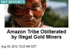 Amazon Tribe Obliterated by Illegal Gold Miners