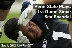 Penn State Plays 1st Game Since Sex Scandal
