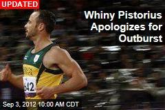 Pistorius Loses in 200M