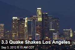 3.3 Quake Shakes Los Angeles