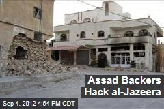 Assad Backers Hack al-Jazeera