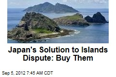 Japan's Solution to Islands Dispute: Buy Them