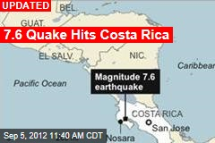 7.9 Quake Hits Costa Rica