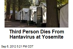 Third Person Dies From Hantavirus at Yosemite